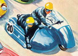 Hurricane Motorbike and Sidecar