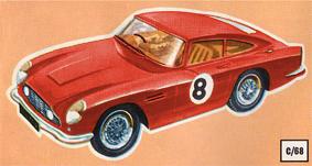 Scalextric 1968 James Bond Set Large Poster Advert Sign Aston Martin Mercedes