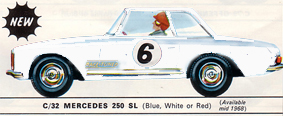 Mercedes 250SL (Race Tuned)