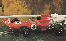 POLICAR MARCH 701 /'MONACO GRAND PRIX 1970/' YELLOW//RED  #23 CAR04C 1:32 SLOT BNIB