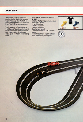 Scalextric 200 Set