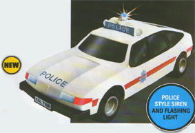 Police Rover 3500