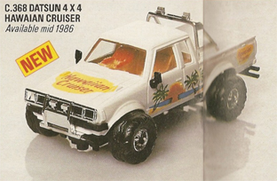 Datsun 4x4 King Cab - Hawaiian Cruiser