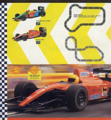 Polk Hobby Hobbies NYC 1960 Scalextric Formula One Slot Car Set Ad
