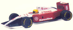 Single Seat Racer - Texaco