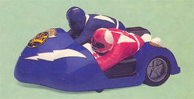 Power Rangers Billy & Kimberly Battle Bike